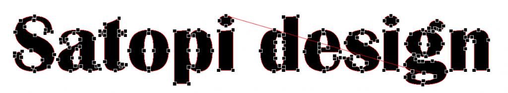 図形化された文字