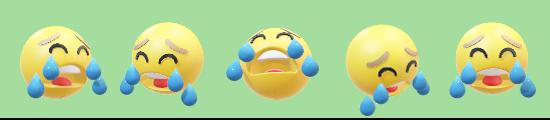 マスキングテープ泣き顔1