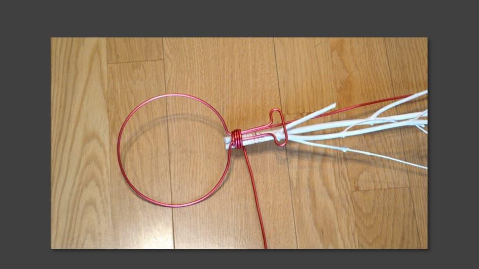ワイヤーを造形3